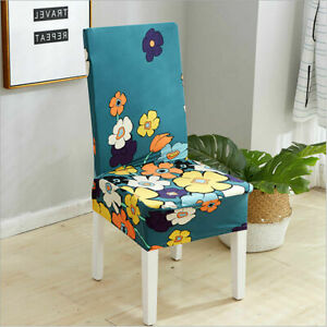 Stretch Dining Chair Covers Slipcover Spandex Wedding Banquet Party Removable AU