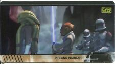 Star Wars Clone Wars Widevision Animation Cel Chase Card #3