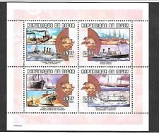 NIGER Sc 1067 NH issue of 2000 - SHIPS - UPU - SOUVENIR SHEET