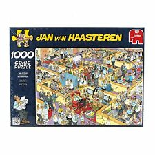 NEW! Jumbo The Office by Jan van Haasteren 1000 piece comic jigsaw puzzle