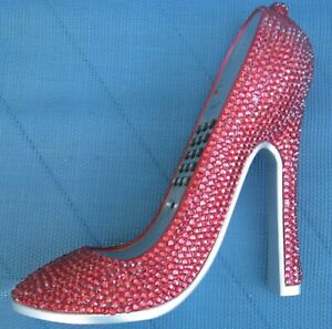 Red Ruby Slipper - Not from Oz - Blinged Out Camp Telephone