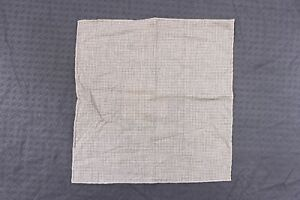 NWT Brunello Cucinelli Mens Soft Wool-Cotton Mini Polka-Dot Print Pocket Sq A176