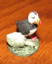 Vintage Peter Fagan Adorables Miniature from Scotland, Scottish Seabird by Rocks