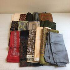 Robert Talbot Handkerchiefs (Hand Rolled Italian silk and Cotton)