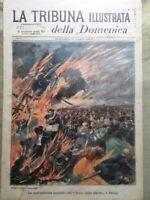La Tribuna Illustrata 16 Maggio 1897 Incendio Parigi Duca Orleans Roberto Stagno