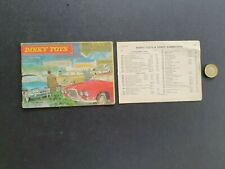VINTAGE DINKY TOYS CATALOGUE 11th Edt 32 Pgs WITH PRICE LIST