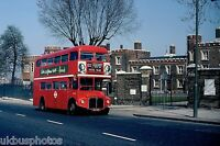London Transport RM237 Woolwich Hospital 23rd April 1978 Bus Photo