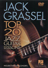 Jack Grassel Top 20 Jazz Guitar Lessons Learn to Play Beginner Music DVD