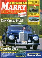 1996 OLDTIMER MARKT MAGAZINE 7 AUDI 80 LS TEST DEUTSCH GERMAN