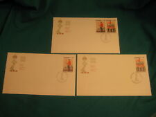 Lot of 3-1976 Fd Issue-Official Canada Po Cachet-#693a-Royal Military College