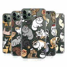 Head Case Designs Cat Breed Patterns Gel Case For Apple iPhone Phones