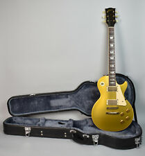 1974 Gibson Les Paul Deluxe Conv. To Standard Electric Guitar Gold Relic w/HSC