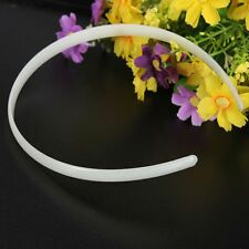 Plastic Hair Band Headband Girl Hair Accessories No Teeth Hairband Plain Lady