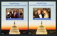 Chad 2016 MNH Donald Trump & Family 45th US Presidents 2x 1v M/S Ivanka Stamps