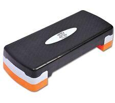 Adjustable 2 Level Aerobic Stepper Fitness studio Step Platform Lightweight