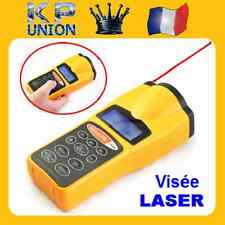 TELEMETRE ULTRASON RAYON POINTEUR VISEE LASER CALCULE DISTANCE VOLUME SURFACE