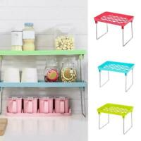 Standing Shelf Kitchen Bathroom Countertop Storage Organizer Shelf Holder New