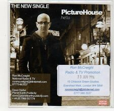 (FC735) Picture House, Hello - 2014 DJ CD