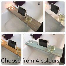 Bath Caddy/Board/iPad/Tablet/iPhone/Phone/Gin/Wine Glass Holder Christmas Gift