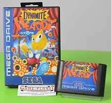 Dynamite Headdy Sega Mega Drive MD OVP top estado, ver foto!