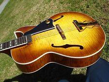 2005 Gibson Herb Ellis Archtop Jazz Guitar Honeyburst Flamed Maple Flame 6.9 lbs