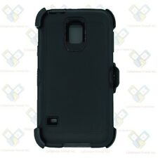 For Samsung Galaxy S5 Case Cover(Belt Clip Holster Fits Otterbox Defender) BLACK