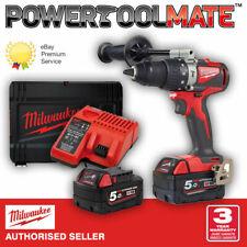 Milwaukee M18BLPD2-502X 18V Combi Drill Kit with 2 x 5Ah Batteries