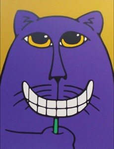 """BRUCE MCKAY """"SMILE"""" - GICLEE ON PAPER, LIMITED EDITION, COA"""