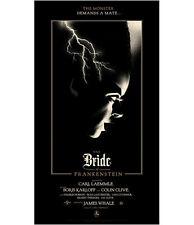Olly Moss The Bride of Frankenstein Art Print Mondo poster universal monsters