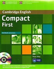 Cambridge inglés Compacto primero Fce Del Libro W respuestas & audio CD que Peter puede NUEVO