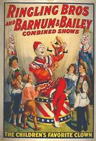 Circus, Clown, Side Shows, Posters, vintage photo reproduction High quality, 180