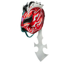Official WWE Authentic Kalisto Silver/Red Replica Mask  One Size