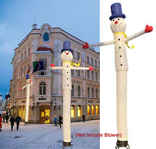 16ft Inflatable Advertising Air Puppet Dancer Sky Wavy Wind Snow Man (No Blower)