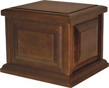 Extra Large/Companion 390 Cubic Inches Walnut Companion Wood Cremation Urn