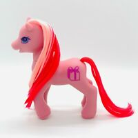 Vintage G2 My Little Pony Secret Surprise Friends Pink MLP Cupcake w/ Present
