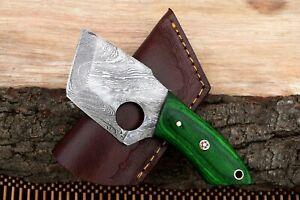 MH KNIVES CUSTOM HANDMADE DAMASCUS STEEL FULL TANG HUNTING/SKINNER KNIFE MH-306