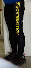 New Pearl Izumi Men's Thermafleece Tight Small Rollerblade Team w/ ankle zippers