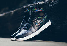 2016 Nike Air Jordan 1 Retro High Nouveau BHM SZ 10.5 Black White OG 836749-045