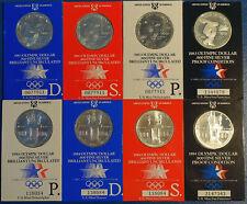 8x 1983/84 Olympic Dollar Brilliant Proof