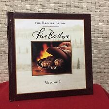 The Recipes of the Five Brothers Cookbook Volume 1 HC Free Shipping