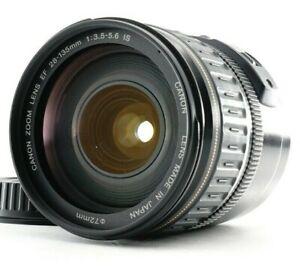 Excellent Canon EF 28-135mm f/3.5-5.6 IS USM AF ZOOM Lens w/HOOD From JAPAN