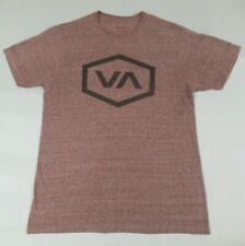 RVCA BALANCE OF OPPOSITES - RED SMALL T-SHIRT - A1023