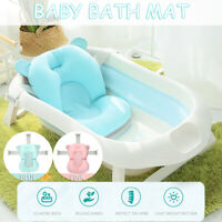 Baby Bath Tub Seat Soft Cushion Anti-slip Safety Bathing Shower Support Belt