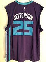 Adidas NBA Jersey Charlotte Hornets Al Jefferson Purple sz L