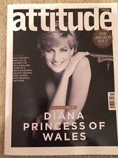 Attitude Magazine 289 Nov 2017 DIANA PRINCESS OF WALES Nyle Dimarco Matt Lucas