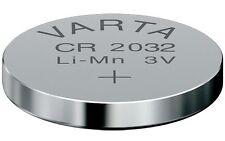 VARTA Pila Lithium CR2032 RENAULT LAGUNA PEUGEOT CITROEN OPEL VOLKSWAGEN CR2032