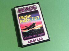 Flight Path 737 Advanced Pilot Trainer Amstrad CPC Game - Anirog (SCC)