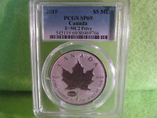 2015 CANADIAN E=MC2 EINSTEIN PRIVY SP 69 BY PCGS  ALMOST PERFECT