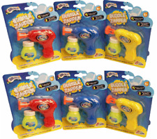 Grafix Childrens Light up LED Bubble Shooter Toy Gun Original 1