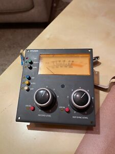 Studer A810 VU Meter in good condition